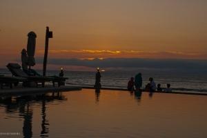Puesta de sol en Lombok.