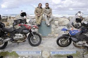Viajando en moto por los Alpes