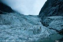 Glaciar Franz Josef en los Alpes neozelandeses