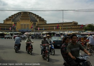 Mercado Central Phnom  Penh