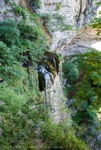 Cascada Los Chorros, nace el río Mundo
