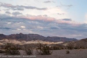 Las montañas del Death Valley