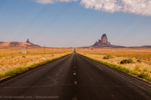Carretera a Monument Valley