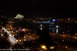 Puerto y Catedral de Palma