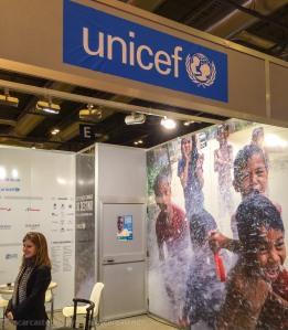 Stand Unicef en Fitur 2014