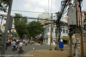 Calles de Ho Chi Minh