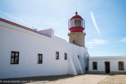 Faro y fortaleza del Cabo San Vicente.