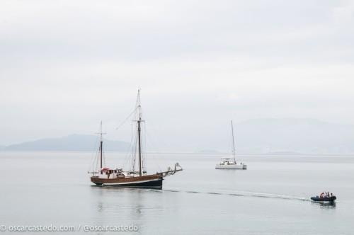 La calma en el océano Atlántico