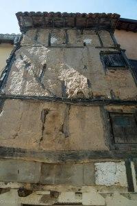 Casa de adobe en Valverde de la Vera