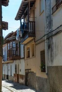 Calles de Valverde de la Vera