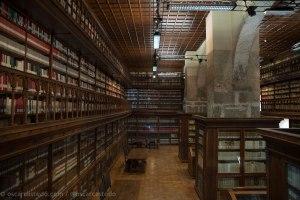 Biblioteca en Casamari