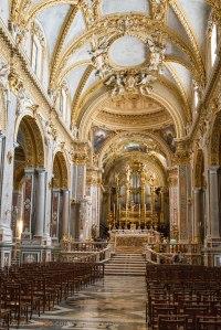 Montecassino. Reconstruida tras la II Guerra Mundial