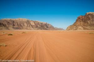 Entrada al Wadi Rum en 4x4