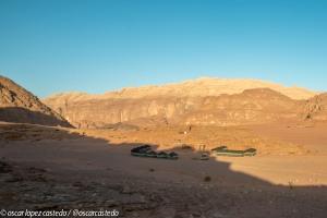 Campamento en Wadi Rum