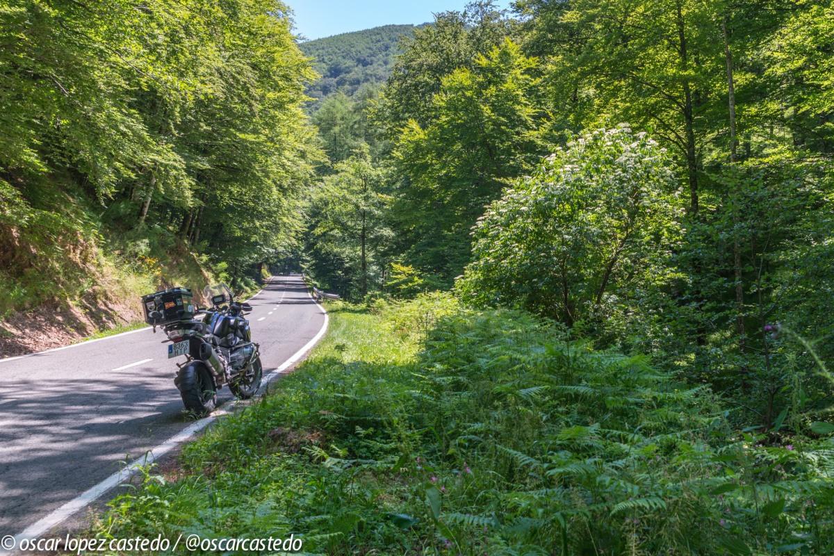Ruta en moto por Navarra