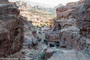 Bajada desde El Deir