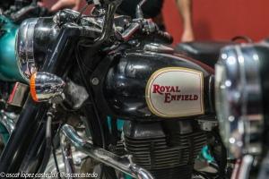 Las máquinas. Royal Enfield
