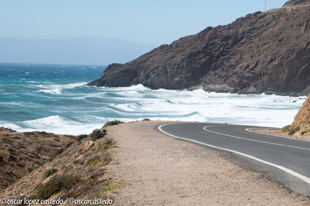 Ruta en moto por Almería